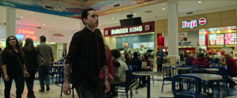 Burger King and Fuji Store in Sicario: Day of the Soldado (2018) Movie Product Placement