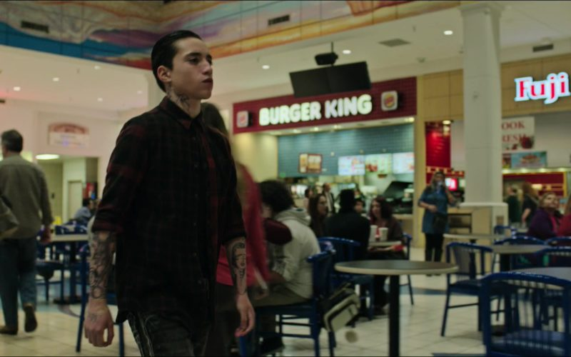 Burger King and Fuji Store in Sicario Day of the Soldado