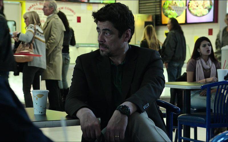 Casio G-Shock Wristwatch Worn by Benicio del Toro in Sicario Day of the Soldado (1)