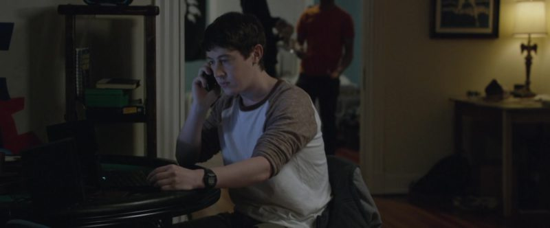 Casio Watch Worn by Alex Sharp in UFO (2018) Movie Product Placement
