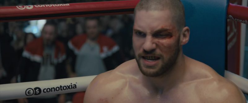Conotoxia Foreign Currency Exchange in Creed 2 (2018) Movie Product Placement