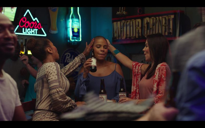 Coors Light, Corona and Pabst Beer Signs in Nappily Ever After (1)