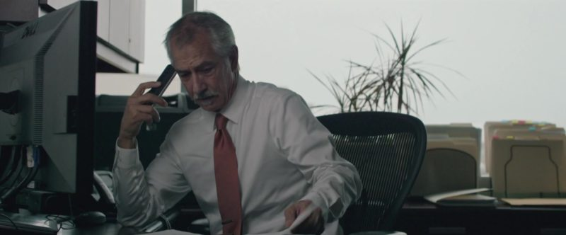 Dell Monitor Used by David Strathairn in UFO (2018) - Movie Product Placement