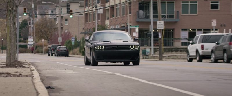 Dodge Challenger Driven by Alex Sharp in UFO (2018) - Movie Product Placement