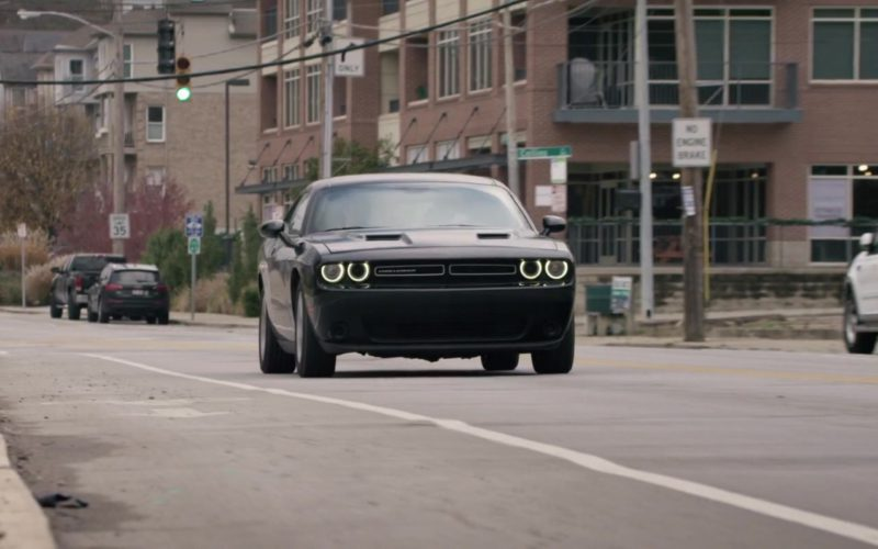 Dodge Challenger Driven by Alex Sharp in UFO (1)