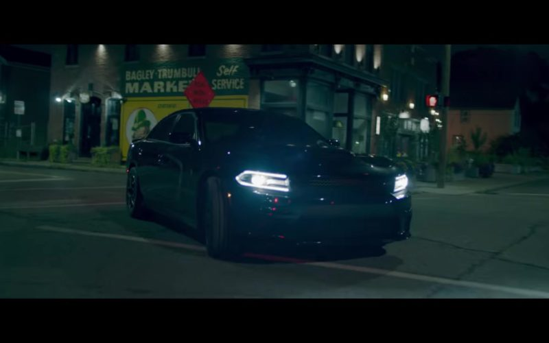 Dodge Charger Black Car in Fall by Eminem (1)