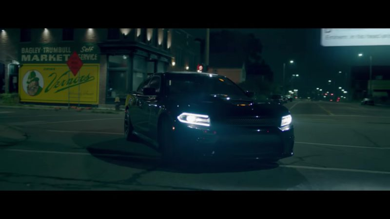 "Dodge Charger Black Car in ""Fall"" by Eminem (2018) - Official Music Video Product Placement"