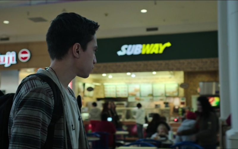 Fuji Store and Subway Restaurant in Sicario Day of the Soldado