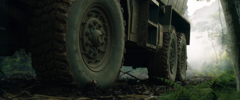 Goodyear Tires in Jurassic World: Fallen Kingdom (2018) Movie Product Placement
