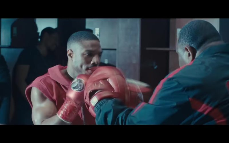 Grant Boxing Gloves Worn by Michael B. Jordan (Adonis Creed) in Creed 2