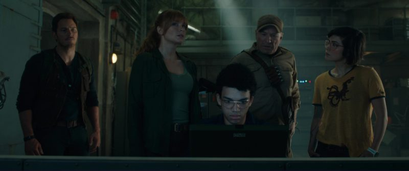 Grid Laptop Used by Justice Smith in Jurassic World: Fallen Kingdom (2018) - Movie Product Placement