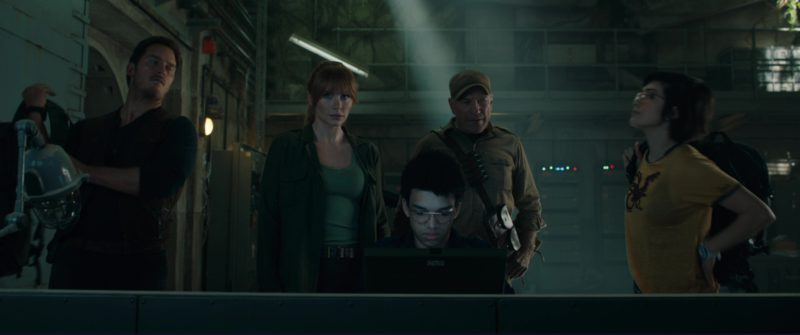 Grid Laptop Used by Justice Smith in Jurassic World: Fallen Kingdom (2018) Movie Product Placement