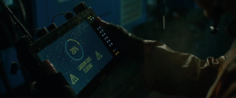 Grid Tablet PC in Jurassic World: Fallen Kingdom (2018) Movie Product Placement