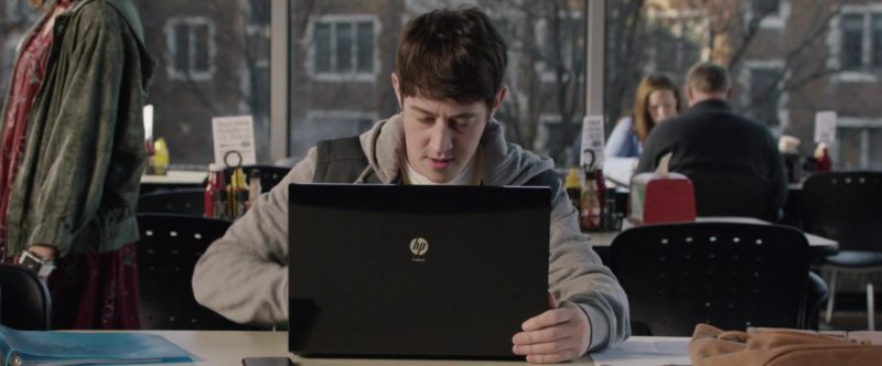 HP Laptop Used by Alex Sharp in UFO (2018) - Movie Product Placement