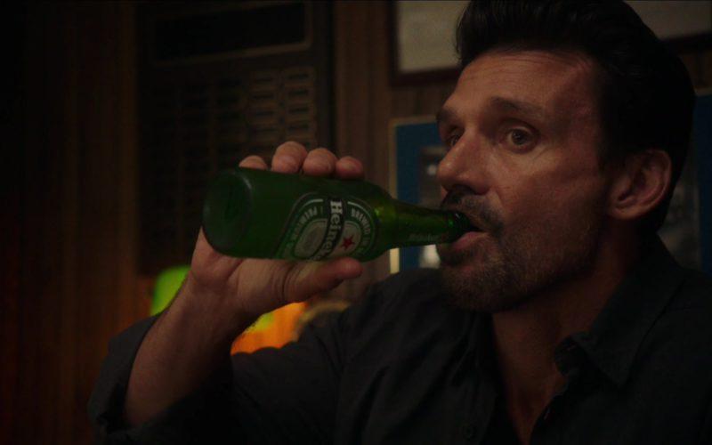 Heineken Beer Drunk by Frank Grillo in Reprisal (2)