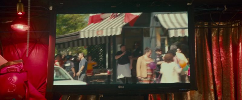 LG TV in Little Italy (2018) Movie Product Placement