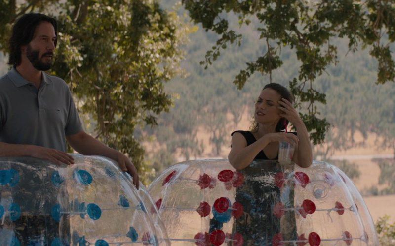 Lacoste Short Sleeve Shirt Worn by Keanu Reeves in Destination Wedding (3)