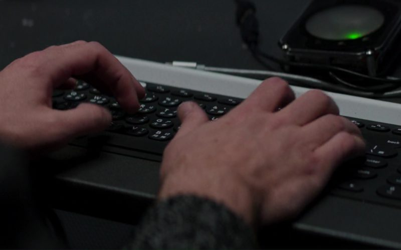 Logitech Keyboard in Skyscraper