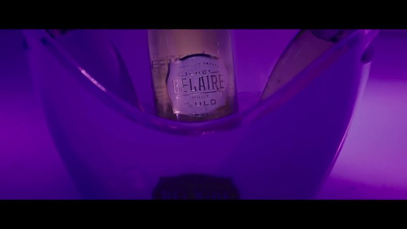 Luc Belaire Brut Gold Sparkling Wine in Backin' It Up by Pardison Fontaine feat. Cardi B (2018) Official Music Video Product Placement