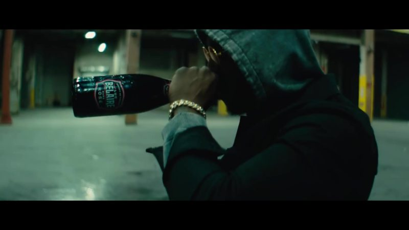 Luc Belaire Rare Brut Sparkling Wine in Backin' It Up by Pardison Fontaine feat. Cardi B (2018) Official Music Video Product Placement