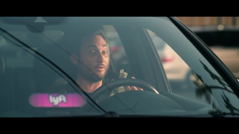 """Lyft Car Sign in """"Leave Me"""" by Rich The Kid (2018) Official Music Video Product Placement"""