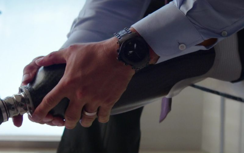 MTM Black 3-GER Special Ops Wristwatch Worn by Dwayne Johnson (The Rock) in Skyscraper (1)