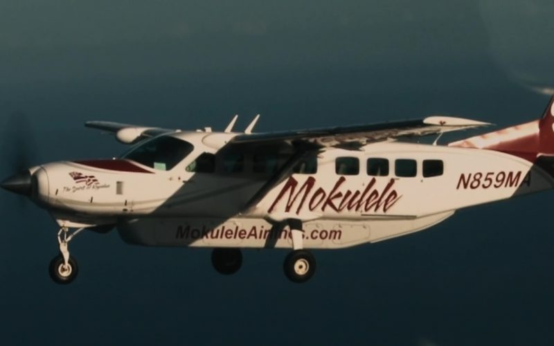Mokulele Airlines in Destination Wedding (6)