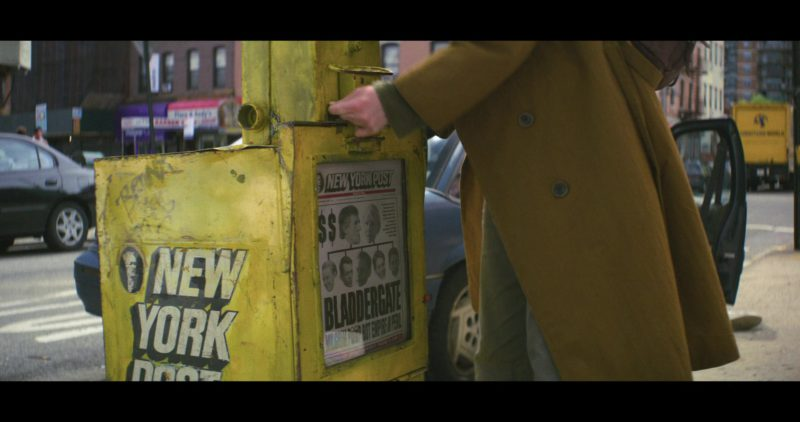 New York Post Newspapers in Maniac: The Chosen One! (2018) TV Show Product Placement