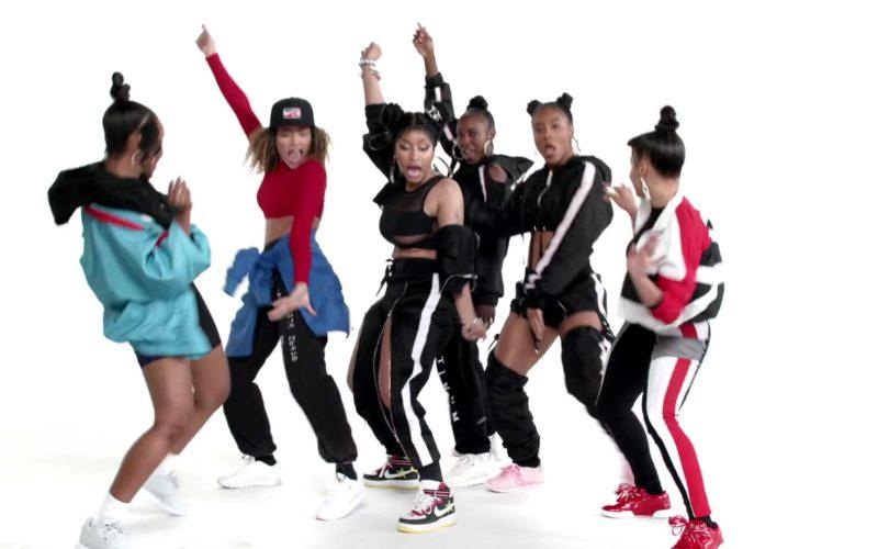 Nike Sneakers Worn by Nicki Minaj in Barbie Tingz (4)
