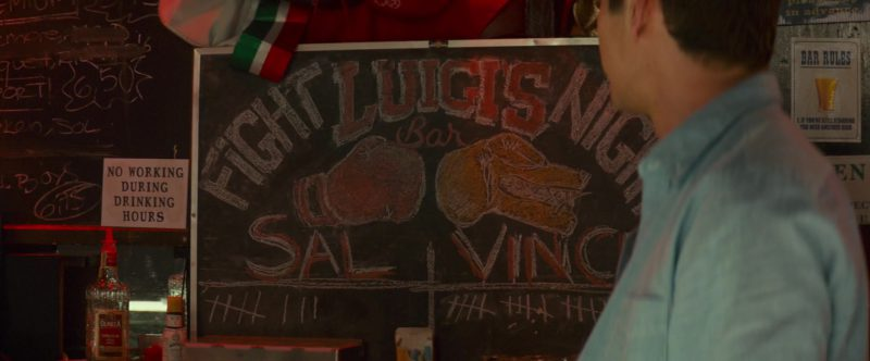 Olmeca Tequila Bottle in Little Italy (2018) Movie Product Placement