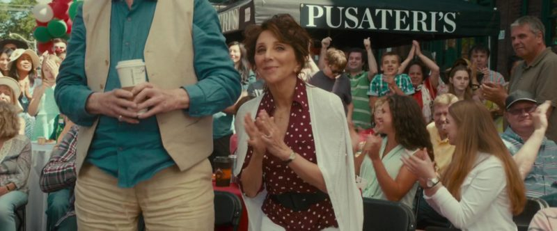 Pusateri's Fine Foods Umbrellas in Little Italy (2018) - Movie Product Placement