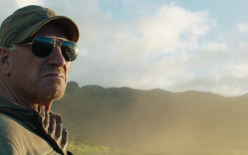 Ray-Ban Sunglasses Worn by Ted Levine in Jurassic World Fallen Kingdom (3)
