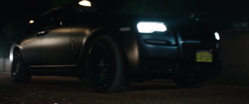 Rolls-Royce Ghost Car in Jurassic World: Fallen Kingdom (2018) Movie Product Placement