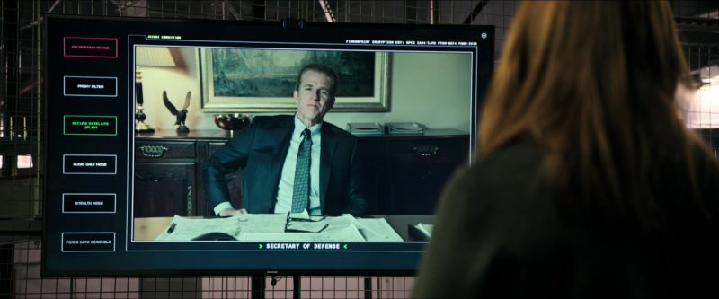 Samsung TV in Sicario: Day of the Soldado (2018) Movie Product Placement
