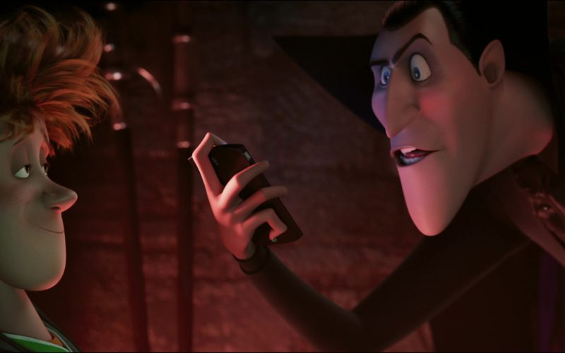 Sony Ericsson XPERIA Smartphone Used by Dracula (Main Fictional Character) in Hotel Transylvania (2)