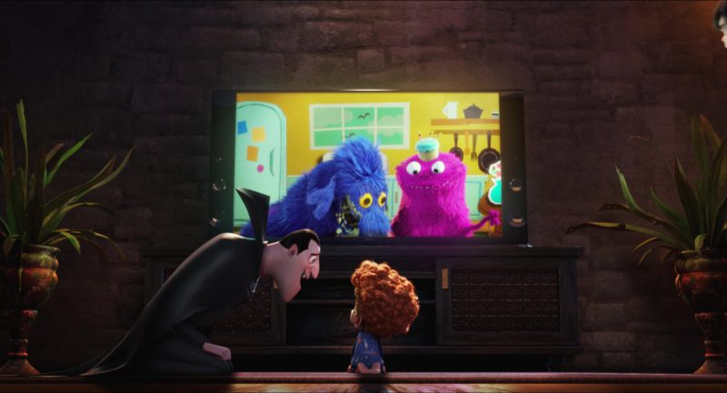 Sony TV in Hotel Transylvania 2 (2015) Animation Movie Product Placement