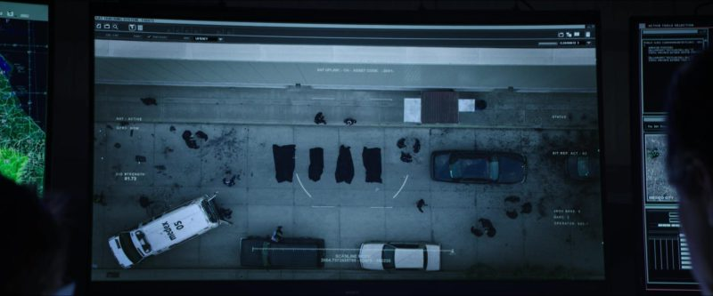 Sony TV in Sicario: Day of the Soldado (2018) Movie Product Placement