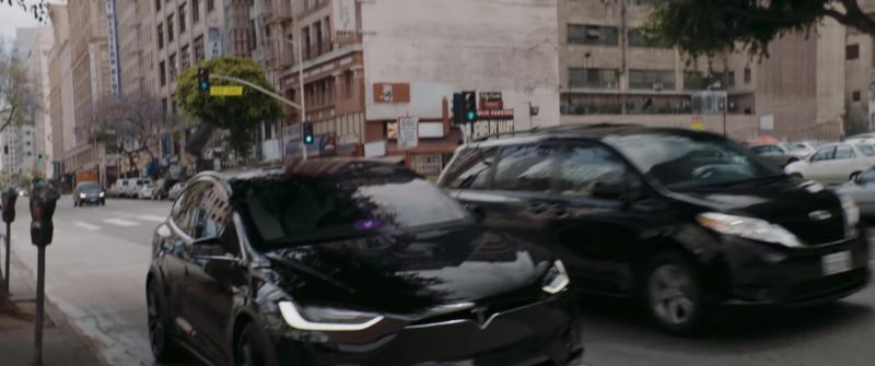 """Tesla Model X Car and Lyft Sign in """"High Hopes"""" by Panic! At The Disco (2018) - Official Music Video Product Placement"""
