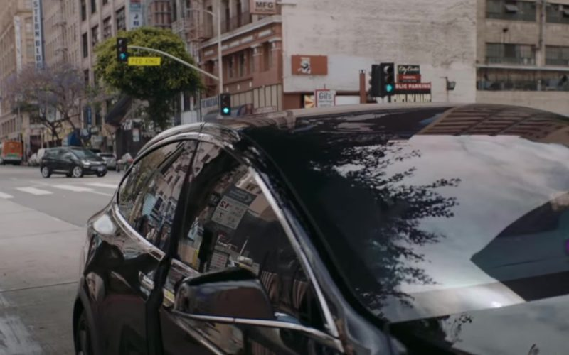 Tesla Model X Car in High Hopes by Panic! At The Disco (4)