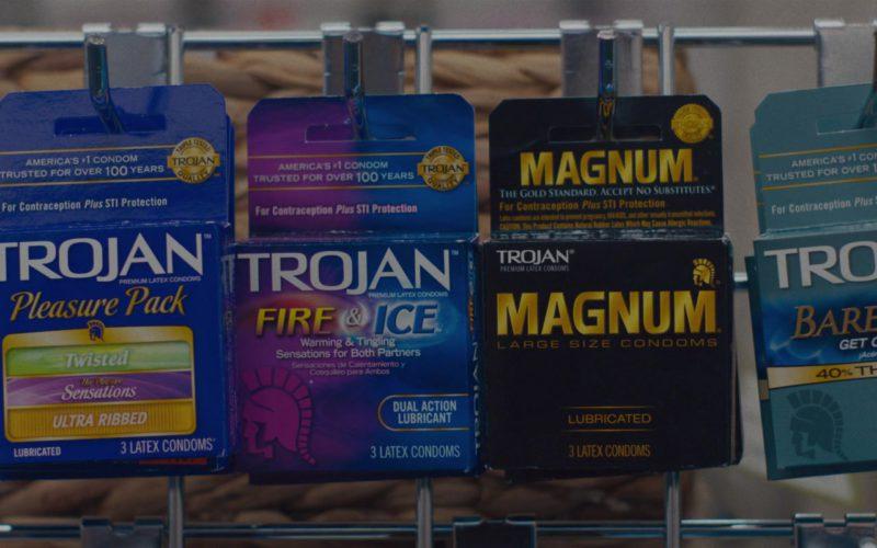 Trojan and Magnum Condoms in Alex Strangelove (1)