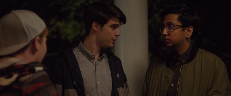 U.S. Polo Assn. Jacket Worn by Daniel Doheny in Alex Strangelove (2018) - Movie Product Placement