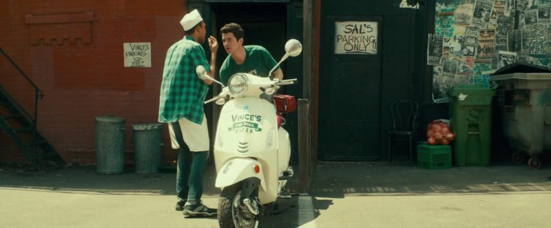 Vespa Scooter in Little Italy (2018) Movie Product Placement