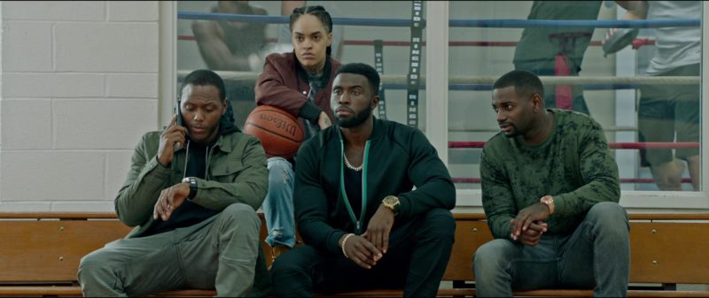 Wilson Basketball in The First Purge (2018) - Movie Product Placement