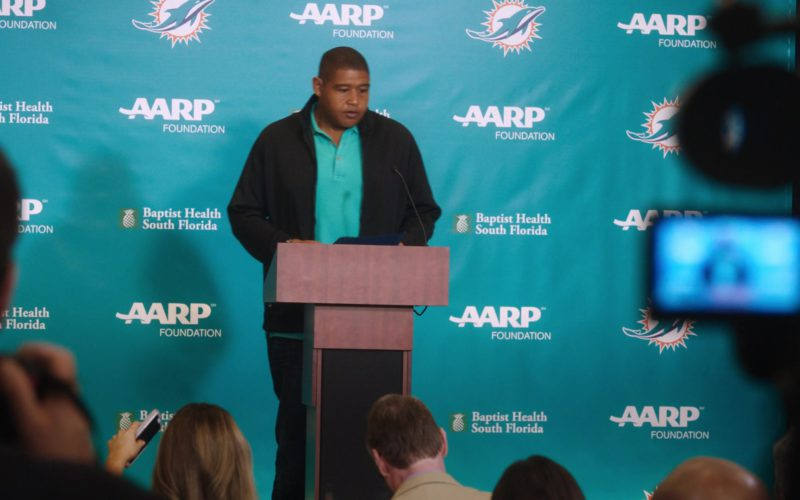 Aarp Foundation, Baptist Health South Florida Clinic and Miami Dolphins (1)