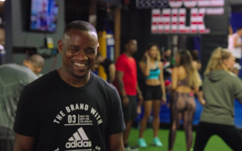 Adidas Black T-Shirt in Ballers