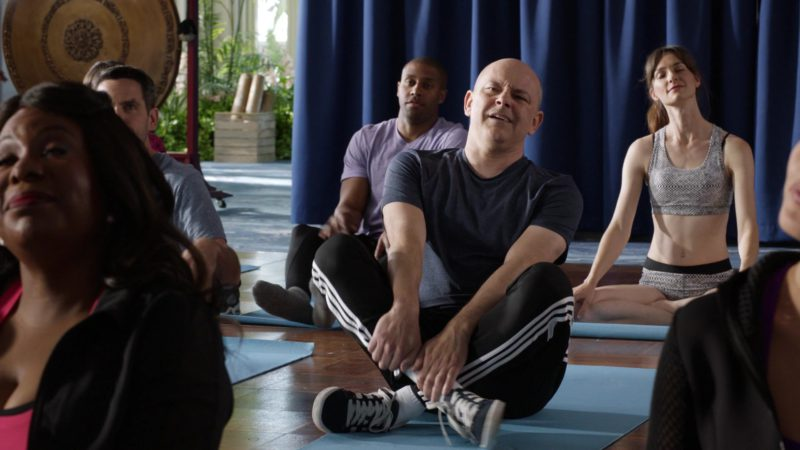 "Adidas Shoes And Pants Worn by Rob Corddry in Ballers: Season 3, Episode 8, ""Alley-Oops"" (2017) TV Show Product Placement"