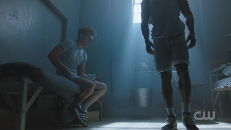 "Adidas Shoes Worn by Keneti James Fitzgerald ""KJ"" Apa in Riverdale: Season 3, Episode 2, ""Chapter Thirty-Seven: Fortune and Men's Eyes"" (2018) TV Show Product Placement"