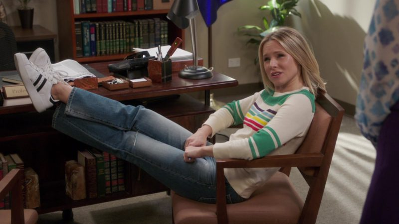 Adidas Women's Shoes Worn by Kristen Bell in The Good Place Season 3 Episode 6: A Fractured Inheritance (2018) TV Show Product Placement