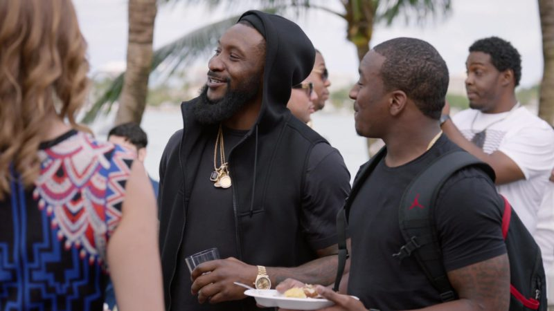 """Air Jordan Backpack in Ballers: Season 2, Episode 8, """"Laying in the Weeds"""" (2016) - TV Show Product Placement"""