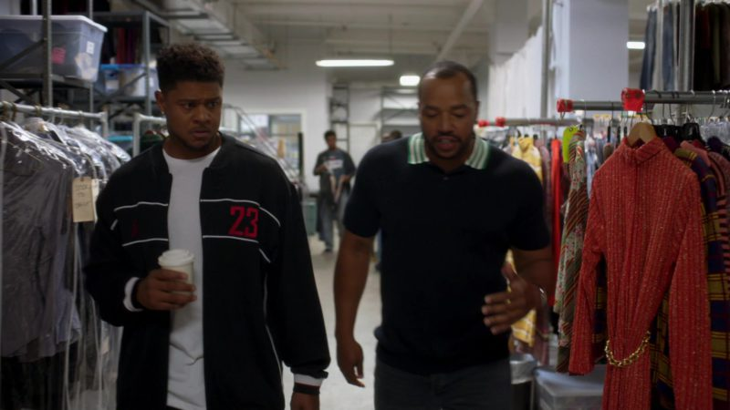 """Air Jordan Tracksuit Worn by Pooch Hall in Ray Donovan Season 6, Episode 1, """"Staten Island"""": Part 1 (2018) - TV Show Product Placement"""